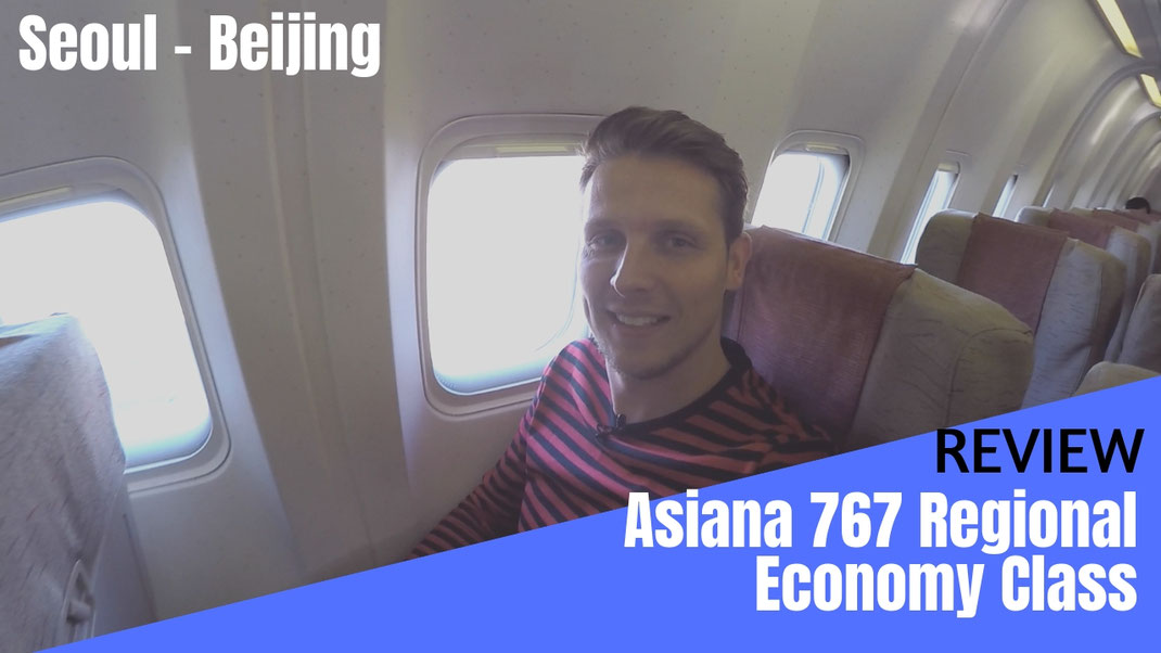 Asiana Airlines Economy Class Review