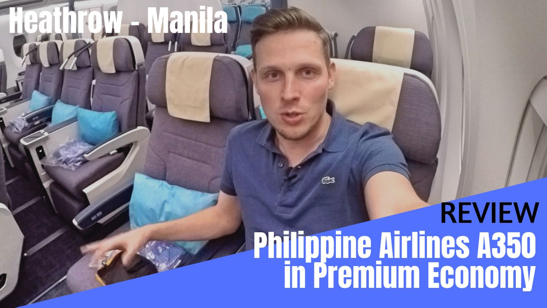 Philippine Airlines A350 Premium Economy Class