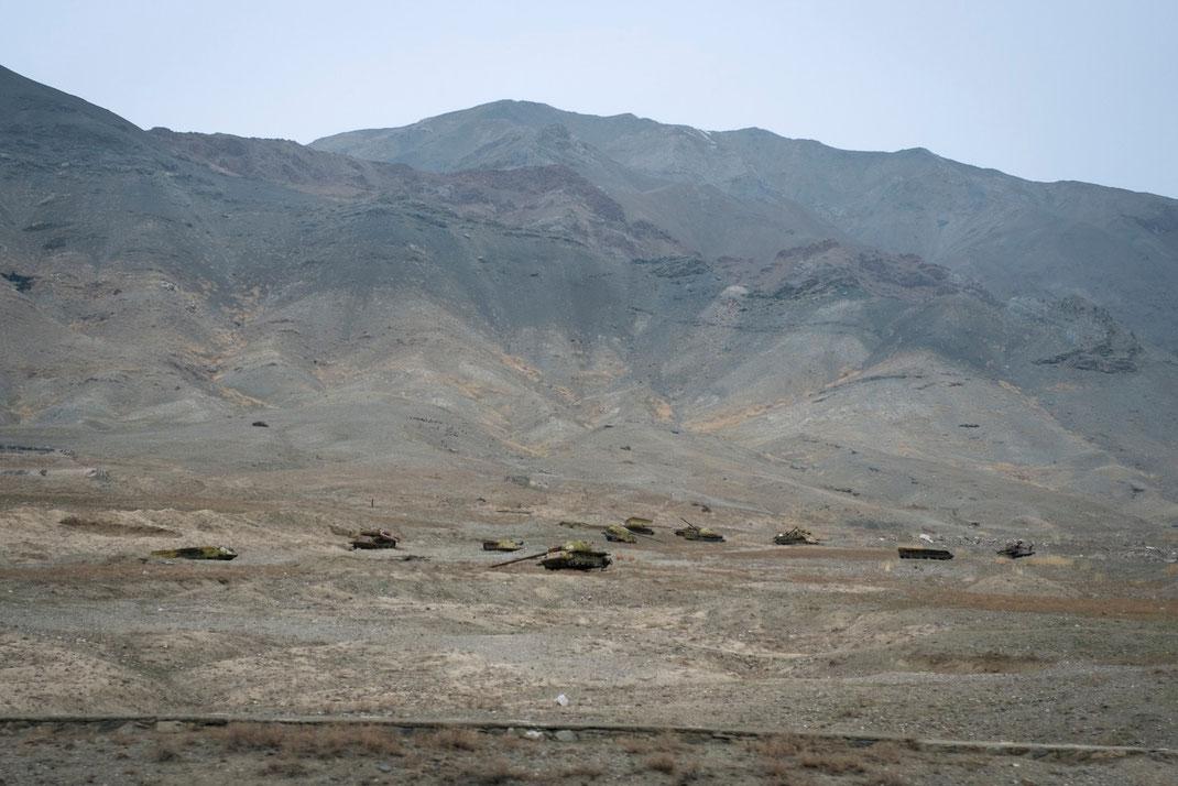 russian tanks in afghanistan