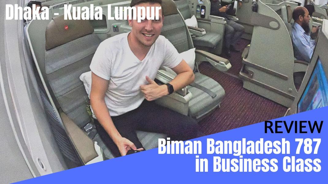 Biman Bangladesh 787 Business Class