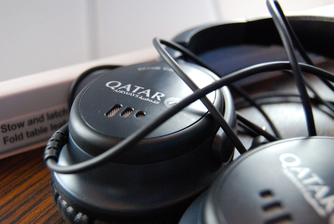 Qatar Airways A350XWB Headphones