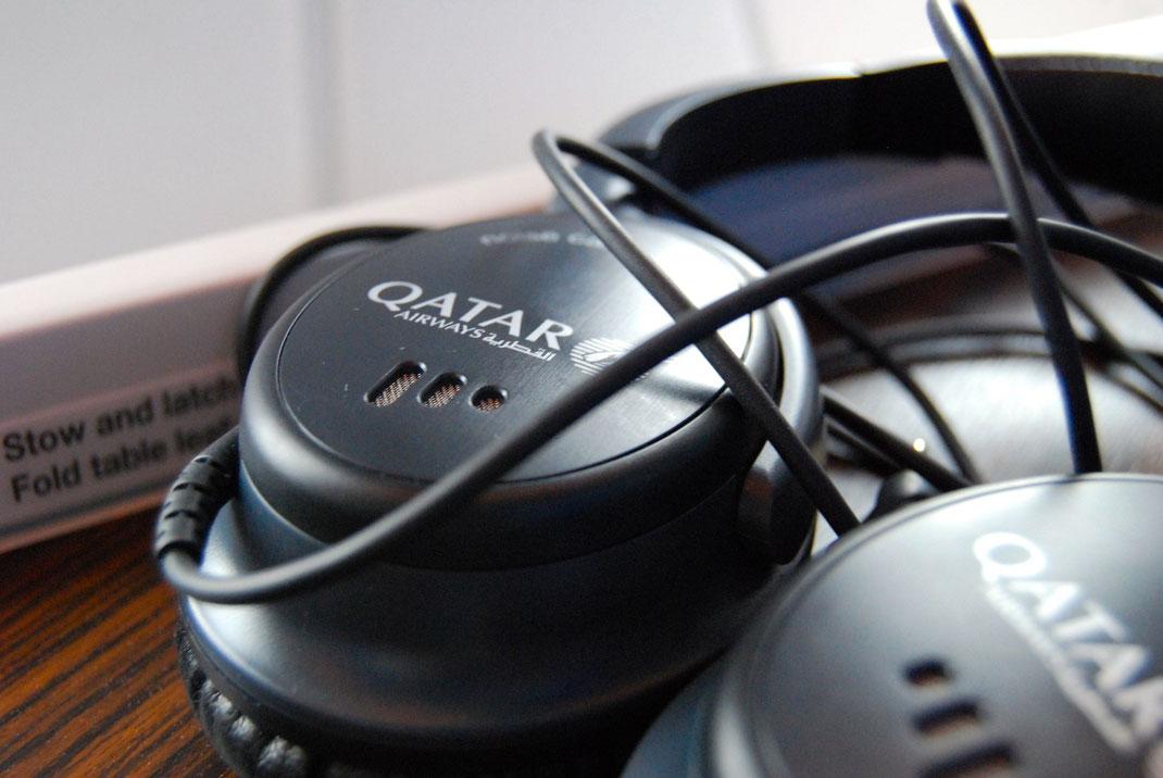 Qatar Airways A350XWB Headphones