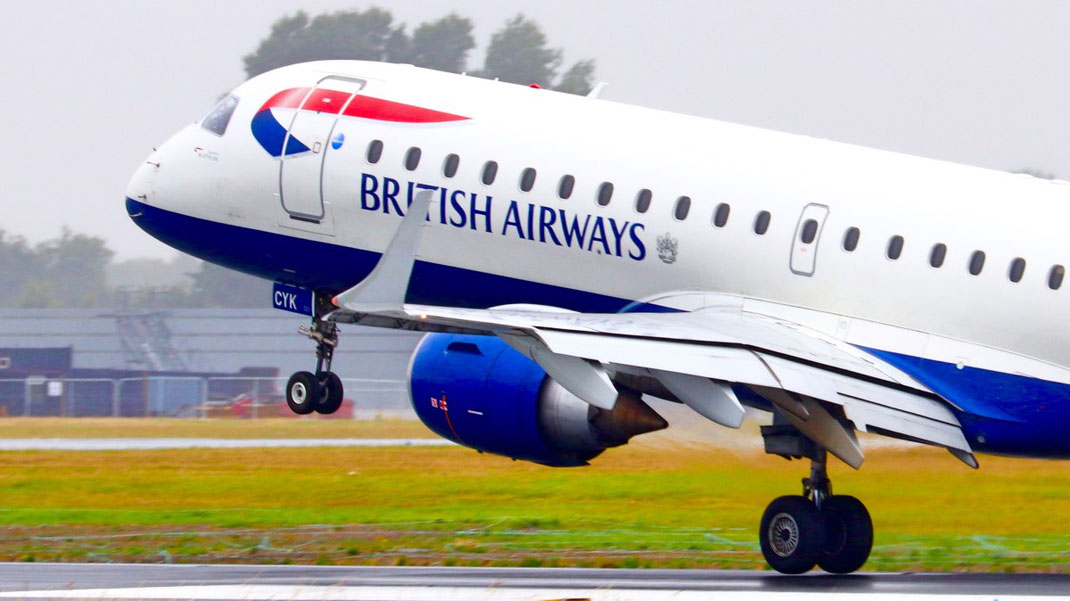 British Airways E190