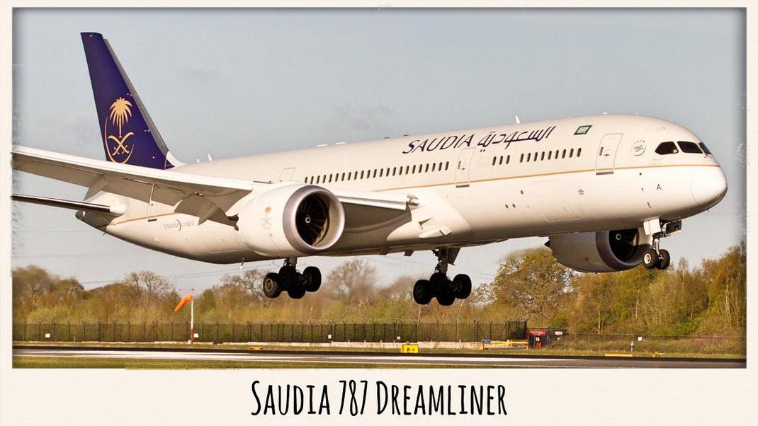 Saudia 787 Dreamliner