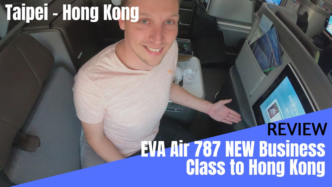 EVA Air 787-9 Business Class