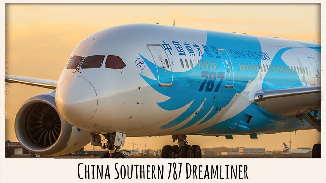 China Southern 787 Dreamliner