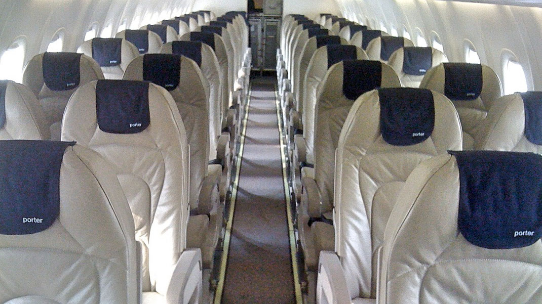 porter airlines seat