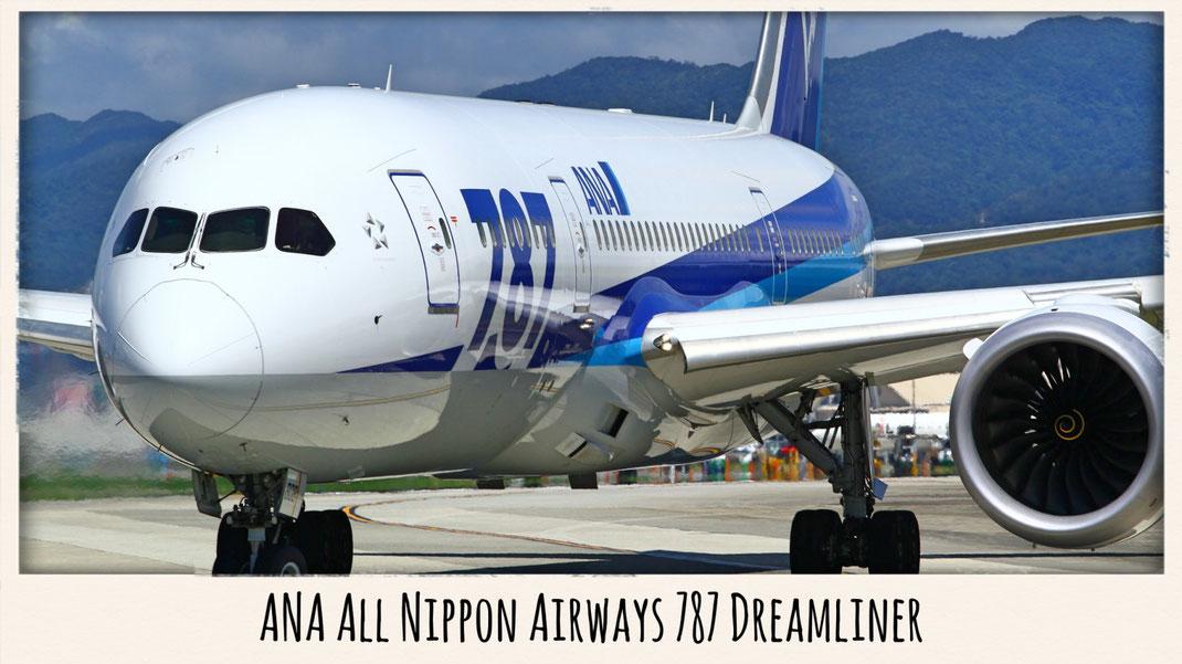ANA All Nippon Airways 787 Dreamliner