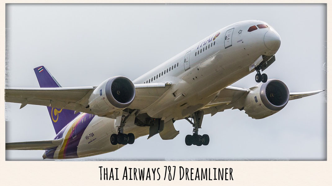 Thai airways 787 dreamliner
