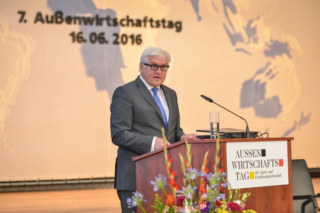außenwirtschaftstag 2016, frank-walter steinmeier