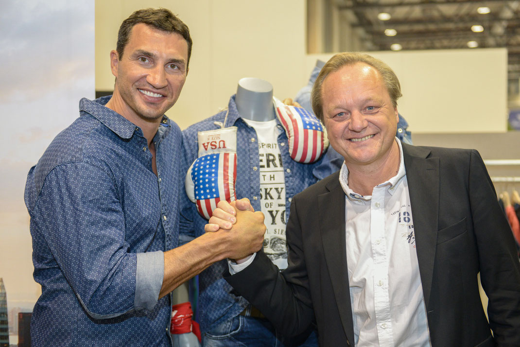 panorama fashion week, wladimir klitschko und h.i.s.