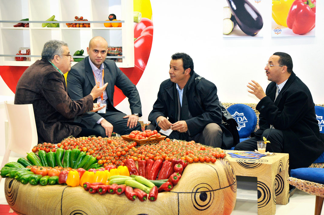 fruit logistica, maroc export, messe