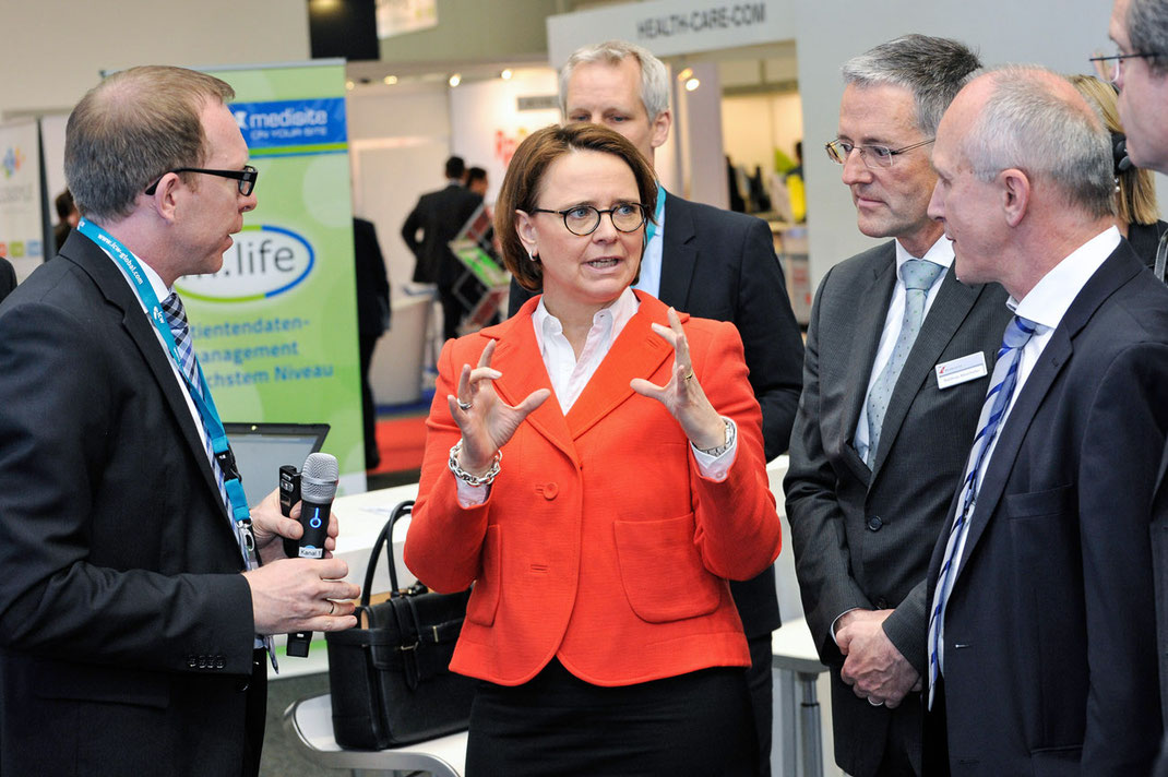 connecting healthcare it, annette wiedmann mauz