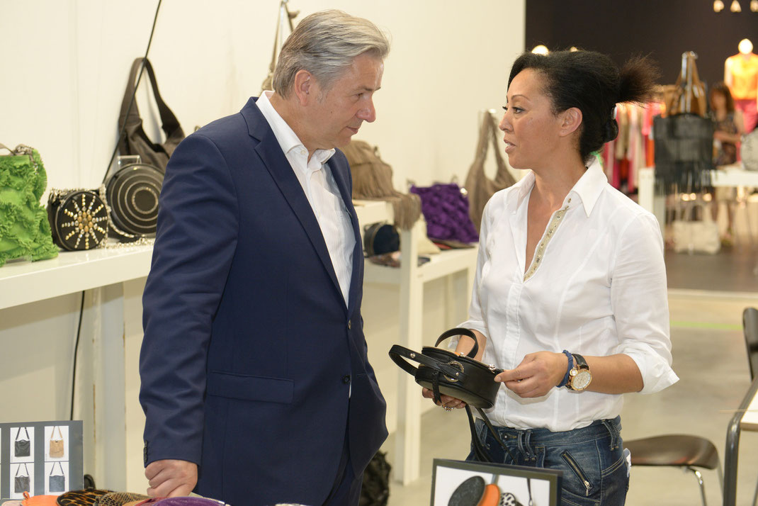 panorama fashion week, klaus wowereit