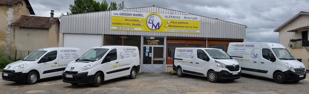 www.gregorymarrel.fr-platrerie-peinture-belley-vehicules-facade-bureau