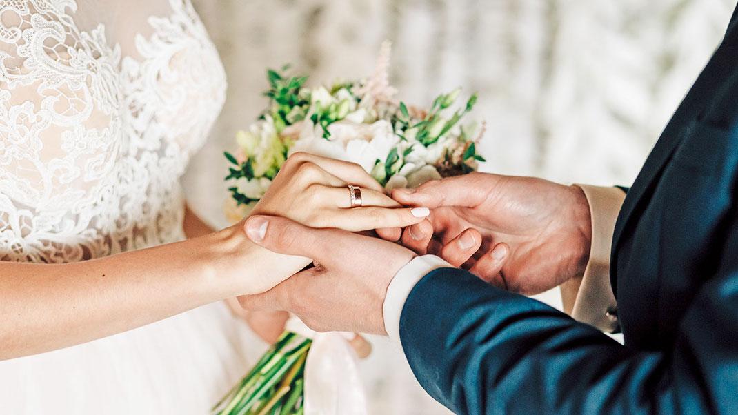 Die Hochzeitslocation im Park