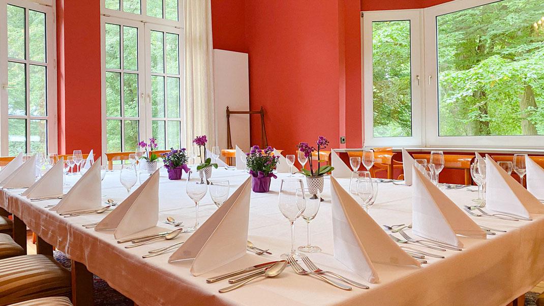 Optimale Räume für Geburtstagsfeiern, Jubiläen, Goldene Hochzeit