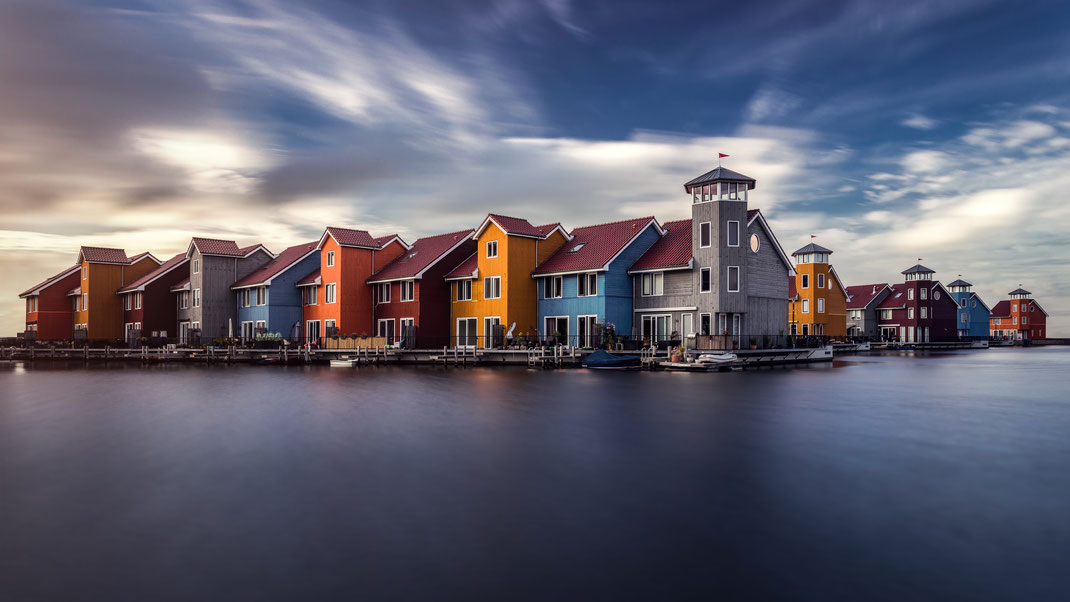Häuser in Groningen von Tobias Gawrisch (Xplor Creativity)