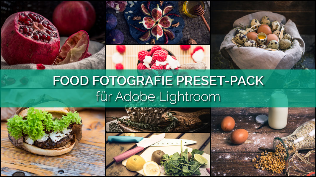 Food Fotografie Preset-Pack für Adobe Lightroom von Tobias Gawrisch (Xplor Creativity)