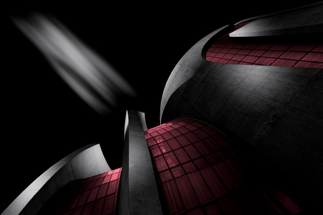 Fine Art Vision mit Selective Color der DITIB Zentralmoschee in Köln