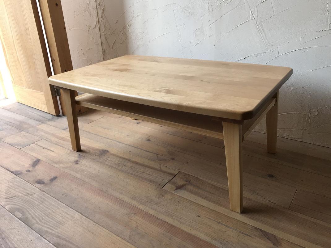 家具リフォーム・リビングテーブル完成