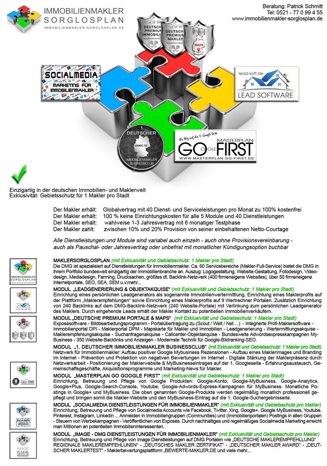Objektakquise Immobilien Leadgenerierung Leads Lead Generierung Akquise Software