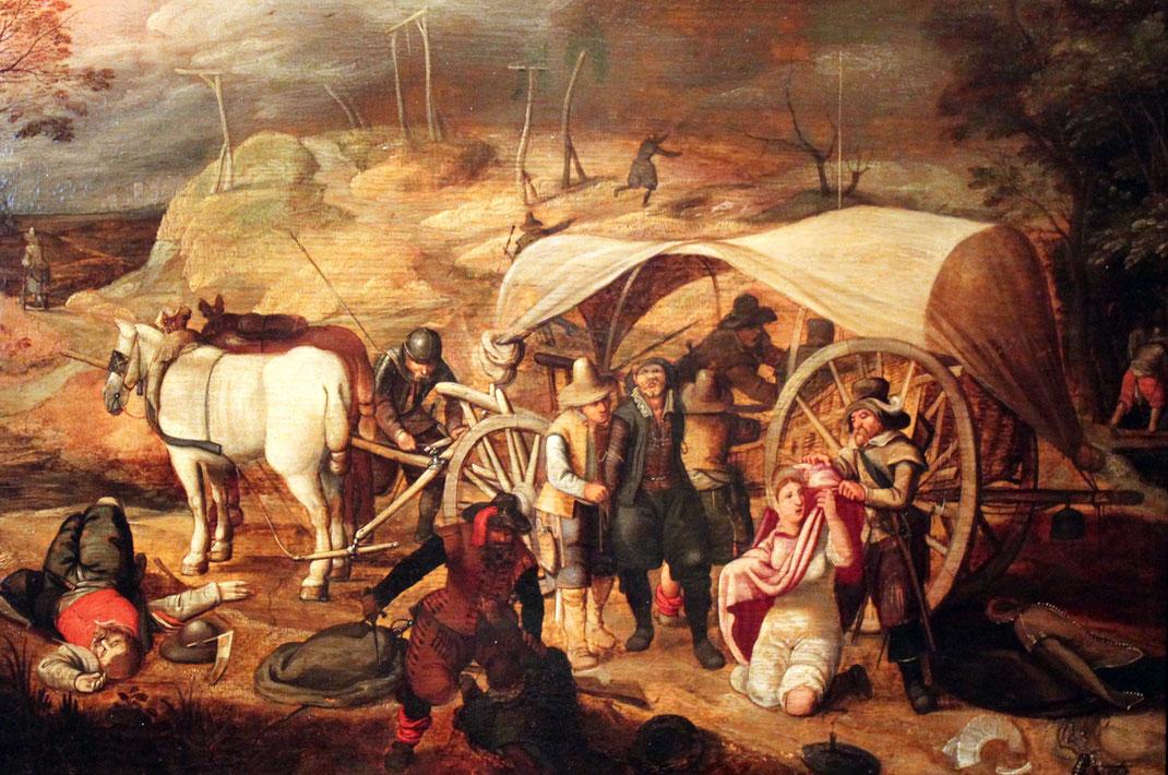 Sebastian Vrancx, Marodierende Soldaten, 1647