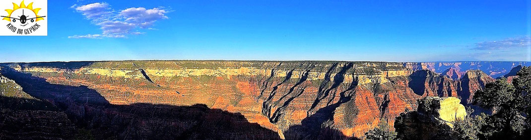 Der Grand Canyon vom Bright Angel Point.