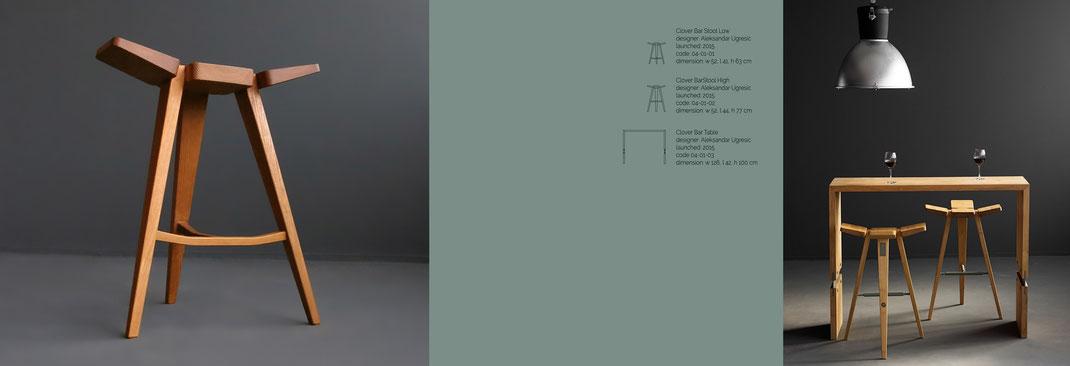 Clover-ist-ein-Barstuhl-von-Hookl-und-Stool-mit-dem-passenden-Tisch