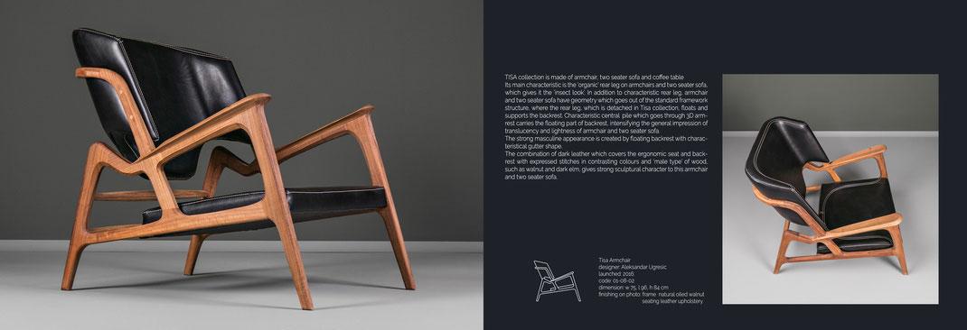 Tisa-ist-ein-Sessel-mit-feinem-Lederbezug-von-Hookl-und-Stool