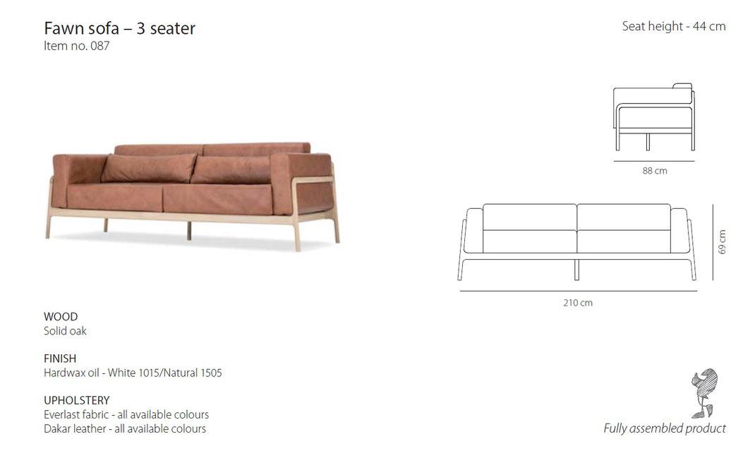 Fawn-das-Sofa-von-Gazzda