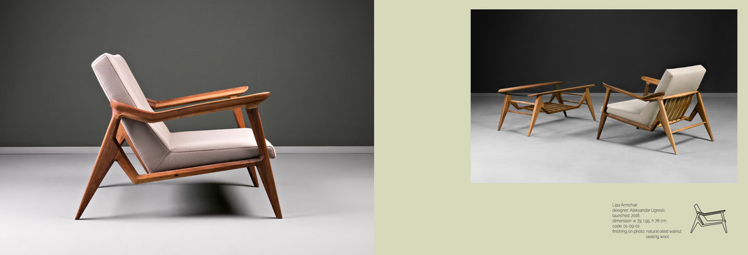 Der-Lipa-Sessel-von-Hookl-und-Stool-mit-feinstem-polster