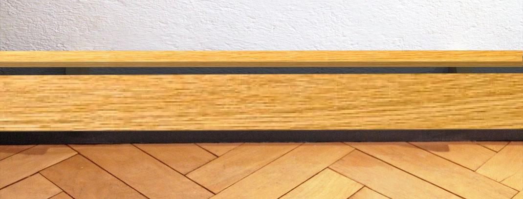 Verkleidung mit Holz