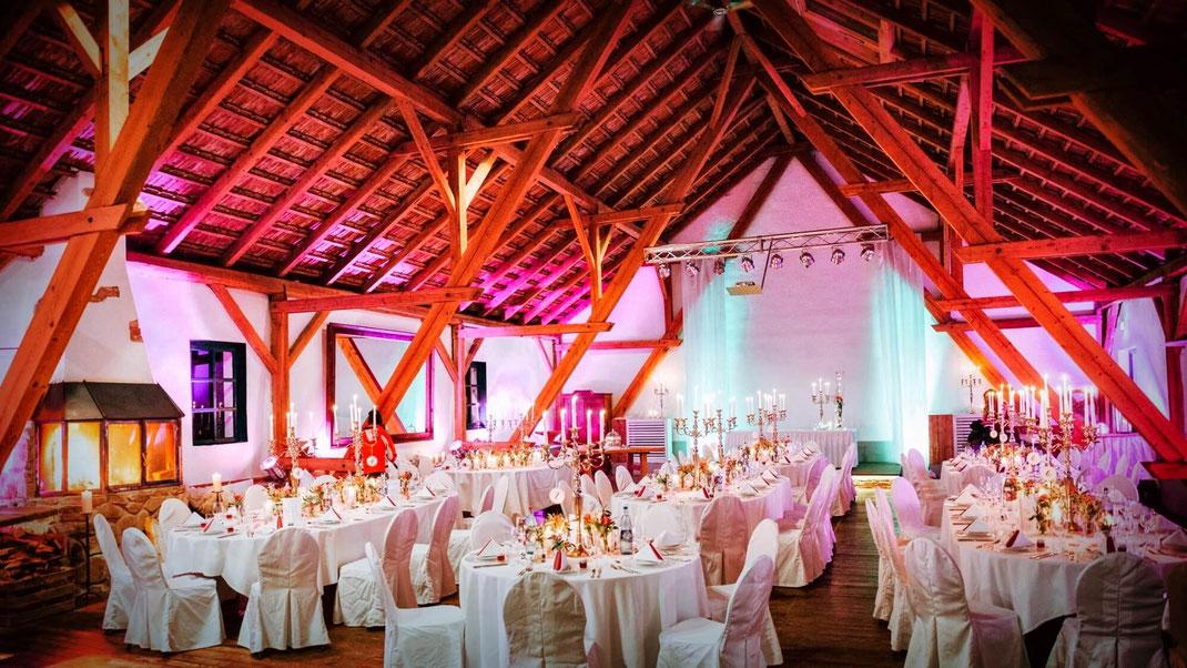 Hochzeitslocation Landkreis Passau Stadl Gut Aichet Heiraten