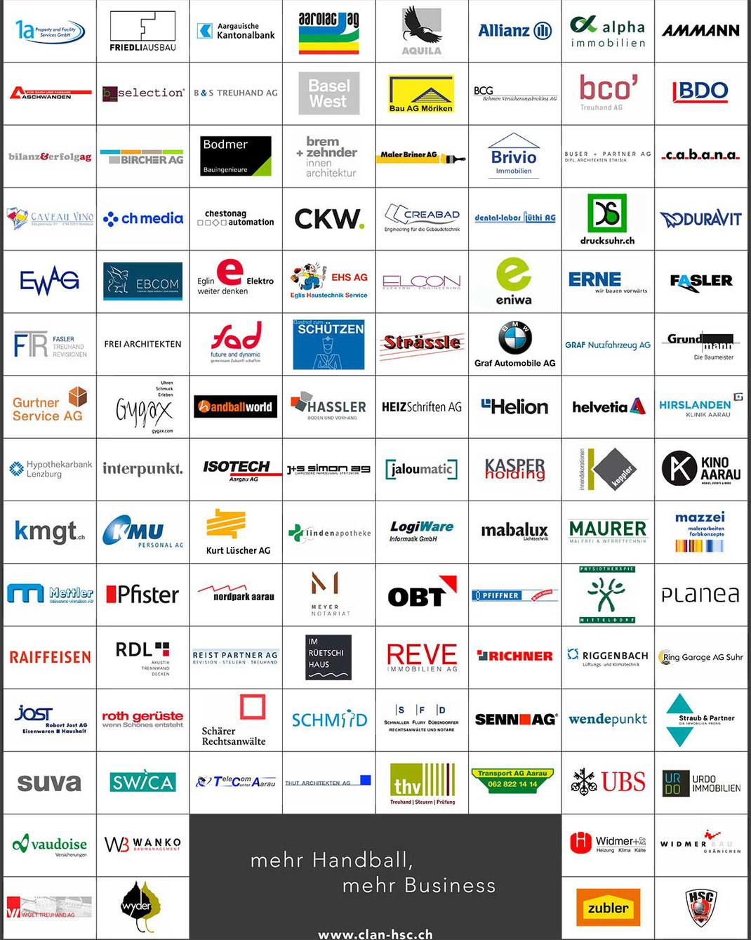 CLAN HSC - das Business-Netzwerk des HSC Suhr Aarau