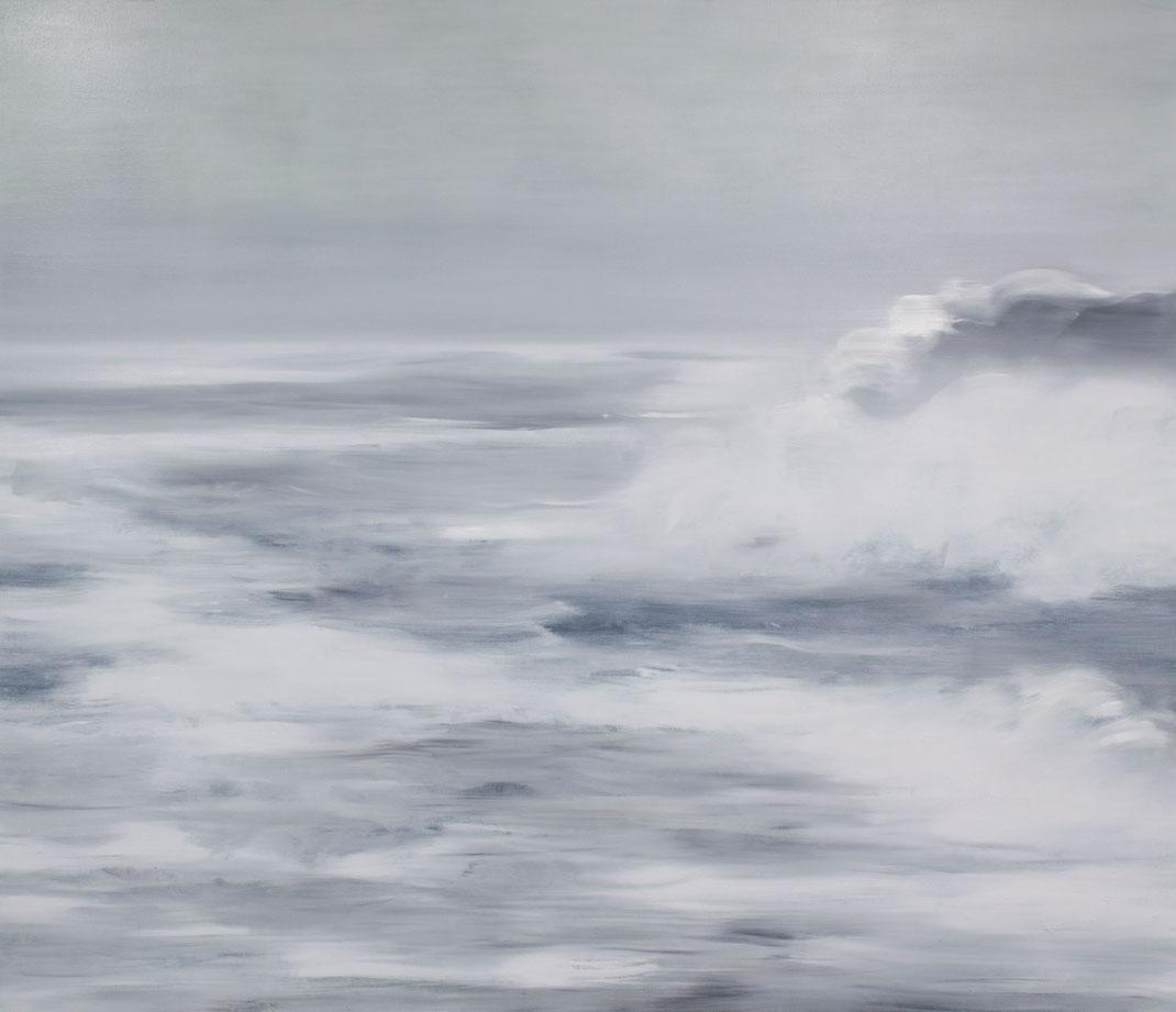 Die Wellen 180x210cm 2020