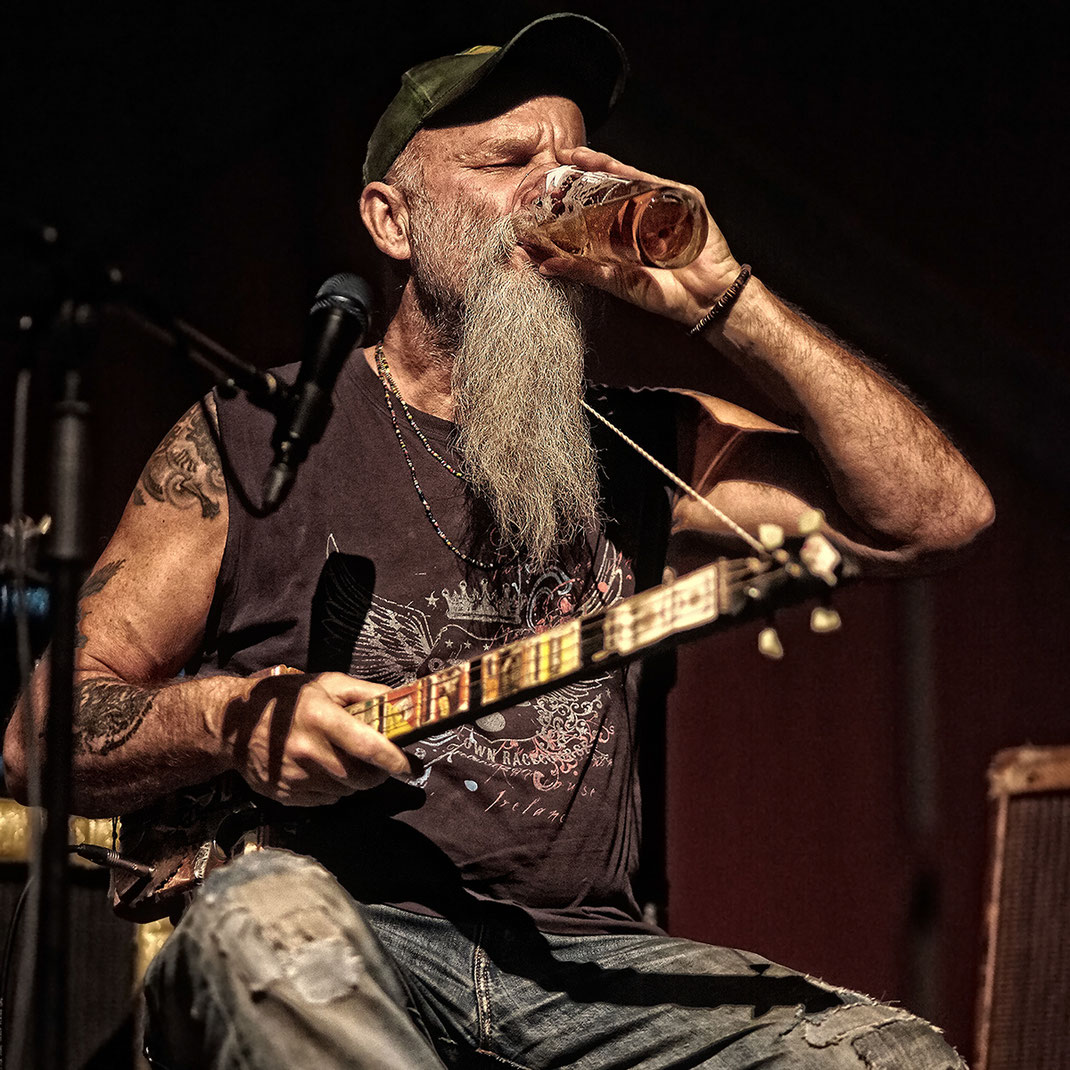 Seasick Steve by Christian Düringer