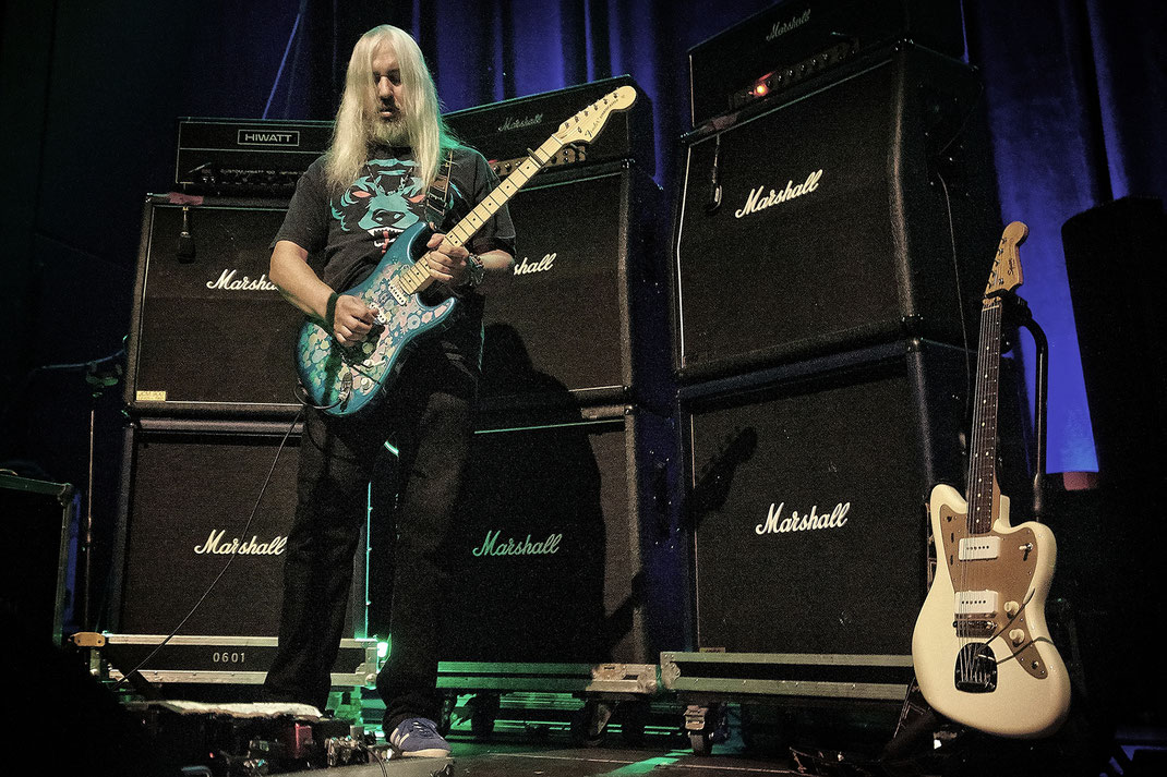 J Mascis of Dinosaur Jr. by Christian Düringer