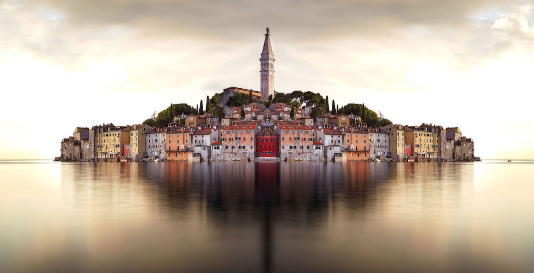 """Mirrored""  Rovinj, Croatia"