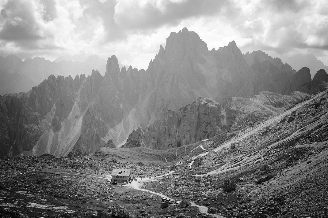 """""""Lonly Cabin""""  Tre Cime di Lavaredo, Italy"""