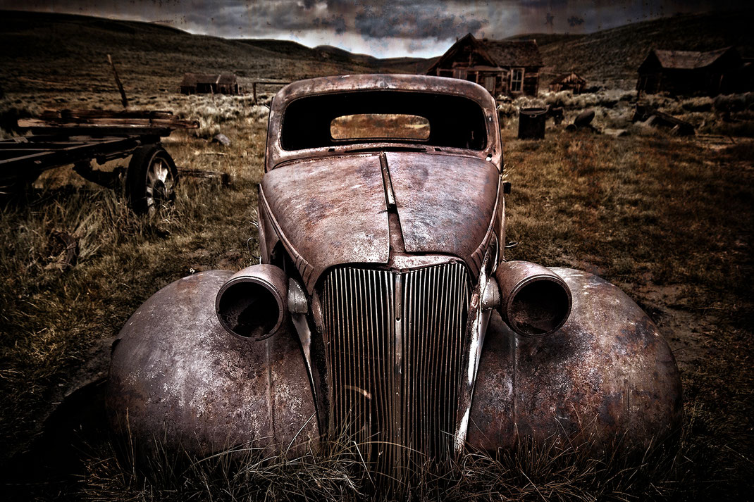 """Ghost Car""  Bodie, California"