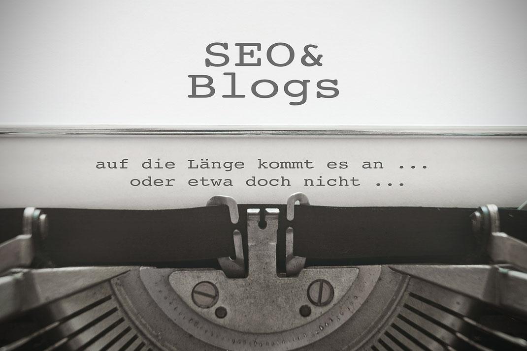 Blog Länge Zeichenanzahl ideal