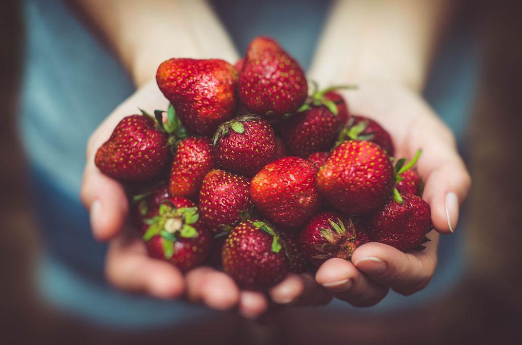 Erdbeeren,Morango,Beeren,Martins Kulinarium,Carvoeiro,Algarve,Portugal