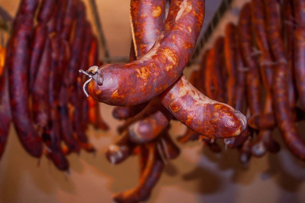 Chouriço,Paprika Wurst,Tapas,Petisco,Vorspeisen,Martins Kulinarium,Carvoeiro,Algarve,Portugal,Mobile Kochschule