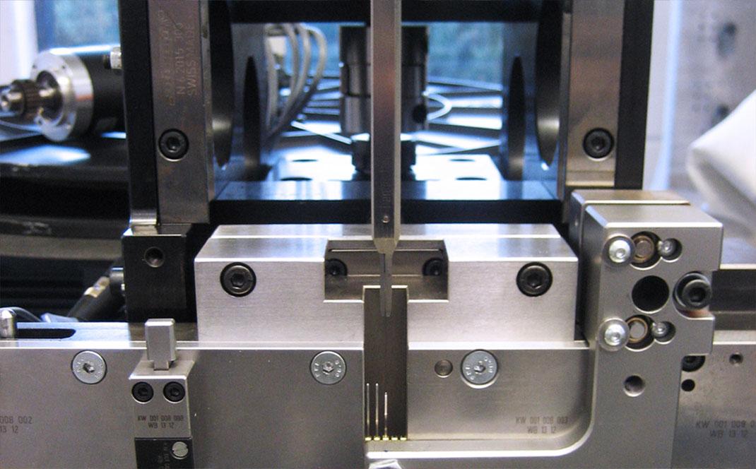 Automatisierungstechnik Einzelteilfertigung Bestueckungstechnik Sondermaschinenbau Baden Wuerttemberg Kurt Betz GmbH Lohnfertigung Kabelabwickler