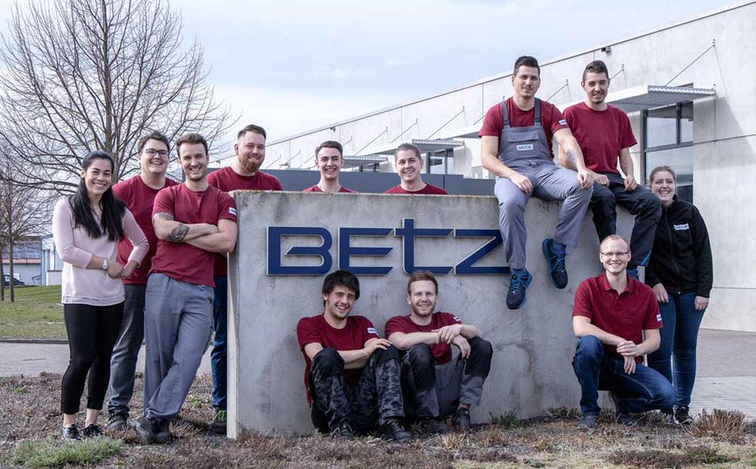 Ueber uns Karriere Kurt Betz GmbH Automatisierungstechnik Jobsuche Sondermaschinenbau Stellenangebote Werkzeugbauer Ausbildung