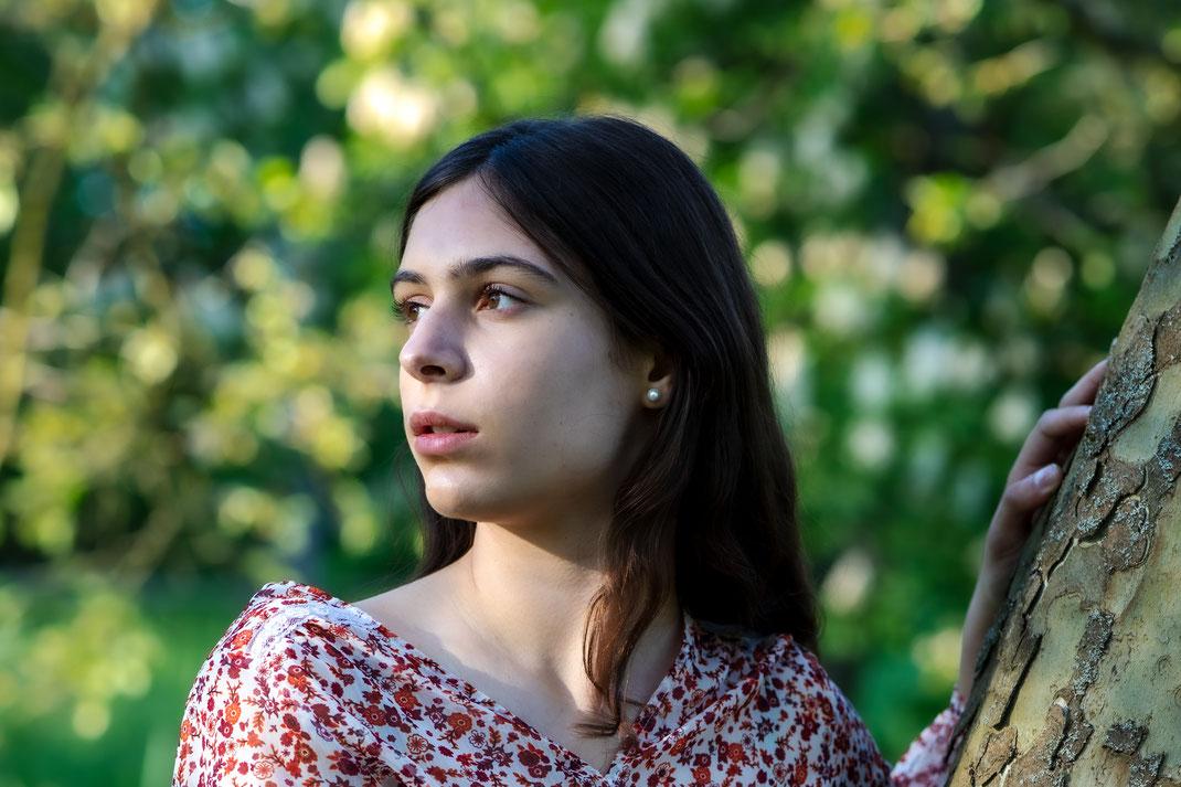 Portraitfotografie frau natürliche Schönheit reutlingen eningen virginie varon