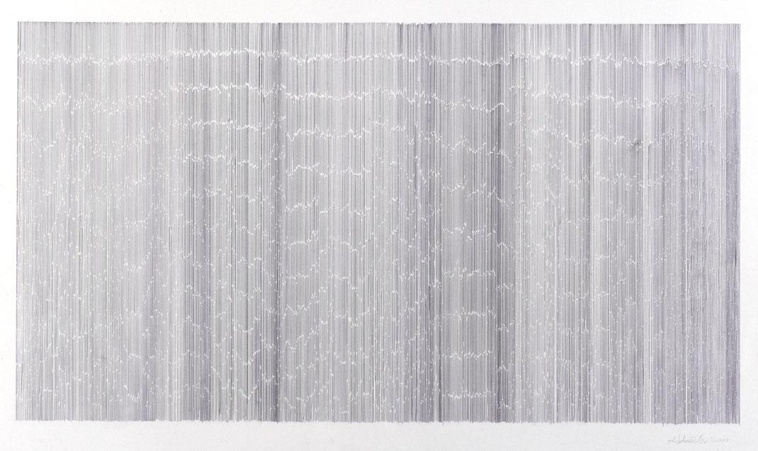 Notation, 93 x 150 cm, 2009 / Foto: Peter Ferstl Regensburg