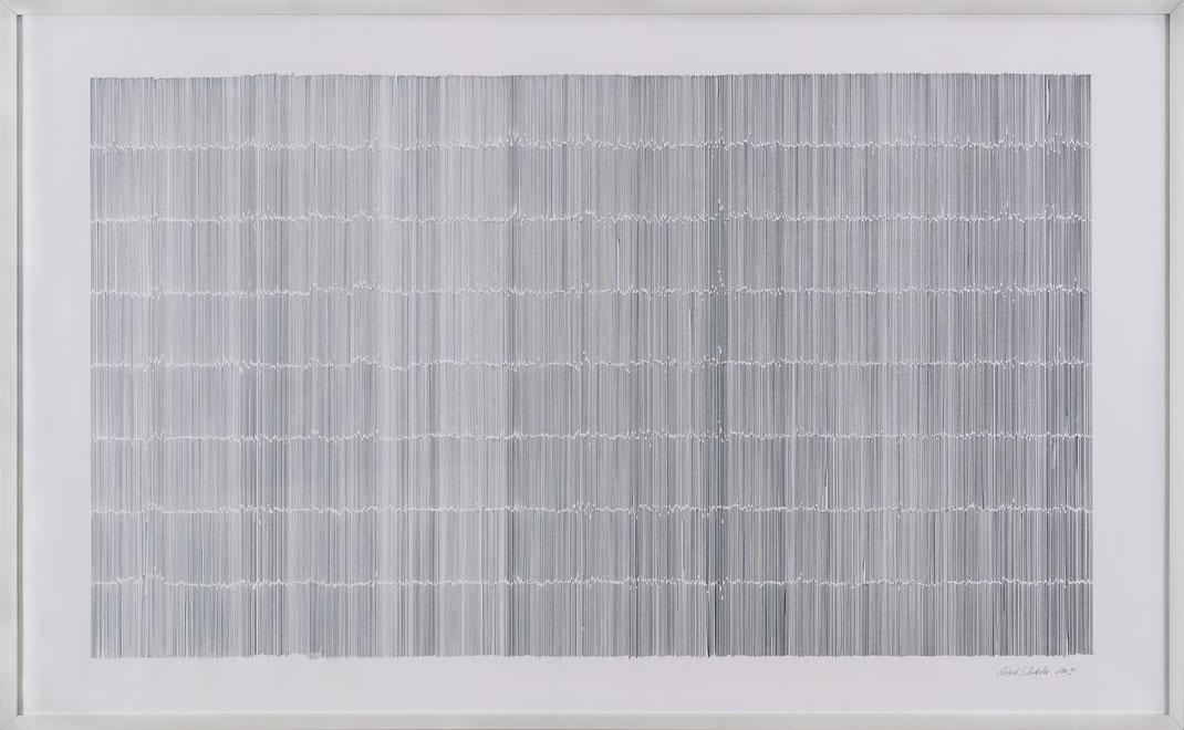 Notation, 93 x 150 cm, 2009 / Foto: altrofoto. uwe moosburger, regensburg