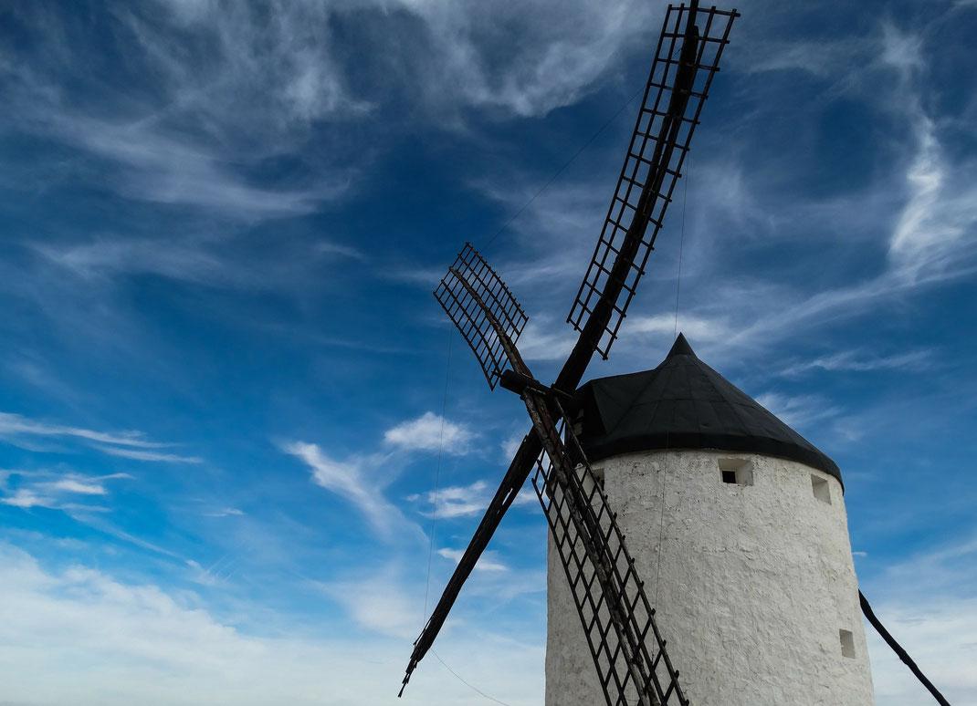 Don Quijote kämpfte gegen Windmühlen